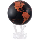 4.5in Dia MOVA Globe - Copper Black Earth