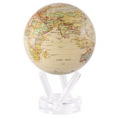 6in Dia MOVA Globe - Antiqued Gloss Finish