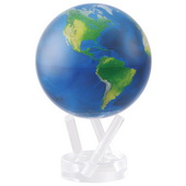 6in Dia MOVA Globe - Natural Earth