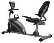 EXERPEUTIC Heavy Duty Magnetic Recumbent Bike with Pulse - FPM4098