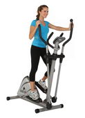 EXERPEUTIC HEAVY DUTY MAGNETIC ELLIPTICAL WITH PULSE - FPM4107