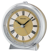Seiko Quiet Sweep Alarm Clock with Dial Light - GSK4906
