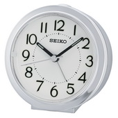 Aqua Pear Quiet Sweep Alarm Clock by Seiko - GSK4924
