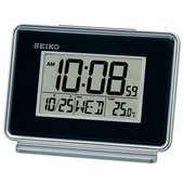 Aqua Pear Bedside Alarm Clock with Dial Light by Seiko - GSK4926