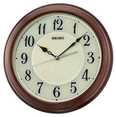 Seiko Wooden Quiet Sweep Wall Clock - GSK4934
