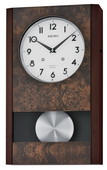 Seiko Contemporary  Wooden Musical Wall Clock - GSK4950