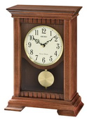 Seiko Deluxe Traditional Wooden Chiming Mantel Clock - GSK4970