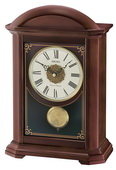 Seiko Deluxe Dark Brown Wooden Chiming Mantel Clock - GSK4972