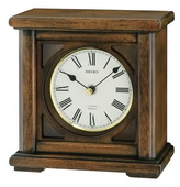 Seiko Deluxe Wooden Chiming Musical Desk/Table Clock - GSK4976