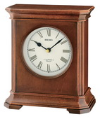 Seiko Deluxe Traditional Chiming Musical Wooden Table/Desk Clock - GSK4978