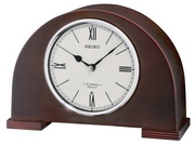 Aqua Pear Deluxe Wooden Chiming Musical Mantel Table Clock by Seiko - GSK4980