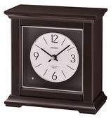 Seiko GSK4986 Deluxe Dark Brown Wooden Chiming Musical Table Clock