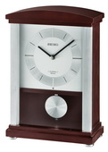 Seiko Contemporary Wooden Musical Mantel Clock - GSK4988