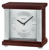 Seiko Deluxe Contemporary Wooden Musical Desk/Table Clock - GSK4990
