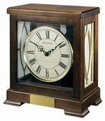Bulova Deluxe Wooden Chiming Mantel Clock - GTB31183
