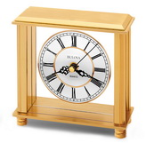 Bulova Table Top Quartz Clock - GTB6108