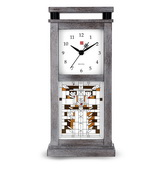 Aqua Pear Deluxe Quartz Table Top Clock with Bluetooth by Bulova - GTB31324