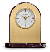 Aqua Pear Deluxe TableTop Quartz Clock by Bulova - GTB31327