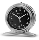 Bulova Alarm Clock with Metal Case - GTB31351