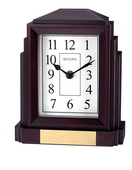 Bulova Tabletop Clock w Bluetooth Speaker - GTB31237