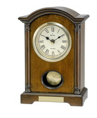 Aqua Pear Deluxe Solid Wood Mantel Chiming Clock by Bulova - GTB31243