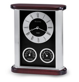Aqua Pear Deluxe Executive Tabletop Quartz Clock by Bulova - GTB6352