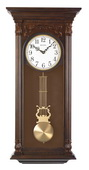 Bulova Deluxe Wooden Chiming Wall Clock - GTB31255