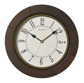 12in Bulova Deco Wall Clock - GTB31264