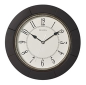 Bulova 12in Deco Wall Clock - GTB31267