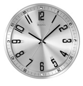 13in Bulova Wall Clock