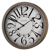 24in Bulova Wall Clock - GTB31297