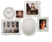 Bulova Picture Frame Wall Art Clock - GTB31300