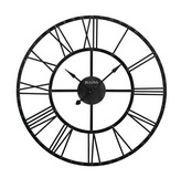 45in Bulova Metal Wall Clock - GTB31372