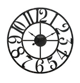 Bulova Oversized 45in Metal Wall Clock - GTB31375