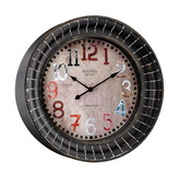 Bulova Metal Wall Clock - GTB31384