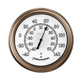 Bulova GTB31393 Indoor/Outdoor Wall Thermometer