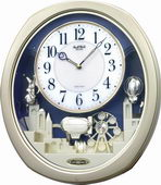 Rhythm Musical Wall Clock - GTM2630