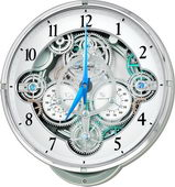 Rhythm 30 Melodies Musical Wall Clock Including Holiday Melodies - GTM2624