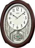 Rhythm Deluxe Wooden Musical Wall Clock 36 Melodies - GTM2676
