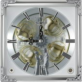 Rhythm Deluxe Musical Clock Quartz