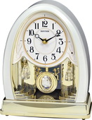Rhythm Deluxe Musical Table & Anniversary Clock - GTM2702