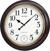 Rhythm Deluxe 21.7inch Musical Wooden Wall Clock - GTM2614