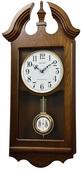 Rhythm GTM2740 Deluxe 19 Melodies Chiming Musical Wooden Wall Clock with Holiday Songs
