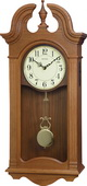 Rhythm GTM2748 Deluxe 30 Melodies Musical Wooden Wall Clock Including Holiday Songs