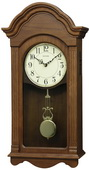 Rhythm GTM2750 Deluxe 30 Melodies Musical  Wooden Wall Clock Including Holiday Songs
