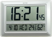 Rhythm Extra Large Numbers Digital Wall/Table Clock - GTM2758