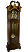 German Hermle Deluxe Mechanical Triple Chiming Grandfather Clock - JHE2563