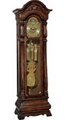German Hermle Deluxe Triple Chiming Mechanical Grandfather Clock - JHE2572
