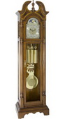 German Hermle Deluxe Triple Chiming Mechanical Grandfather Clock - JHE2578