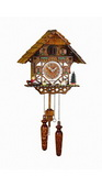 17in German Hermle Deluxe Cuckoo Clock Quartz - JHE2644